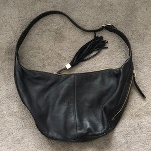 Nine West gold hardware sling bag